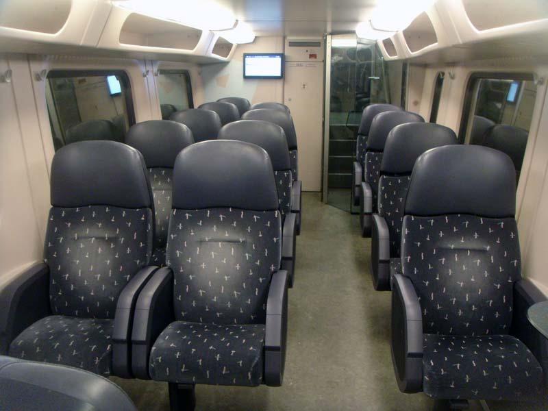 eerste klasse ns trein