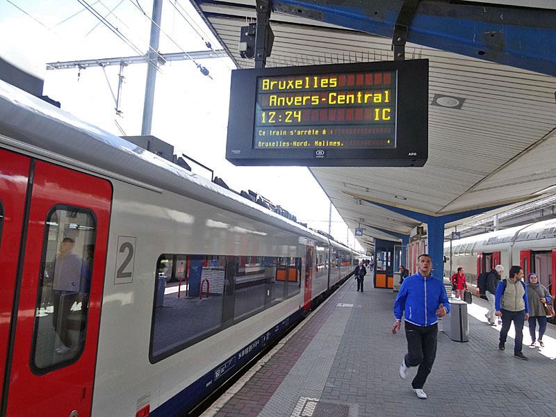 Trein Turnhout Brussel