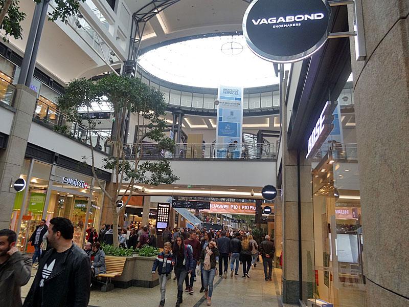 oberhausen overdekt winkelcentrum